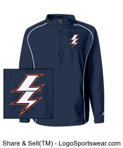 Rawlings 1/4 Zip Dobby Pullover Design Zoom