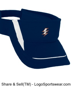 Embroidered Mesh Visor Design Zoom